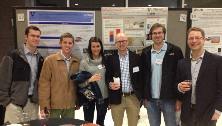 Med Lab Members at the 3rd Annual ViSE Symposium
